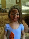 Zooey's chocolate mask
